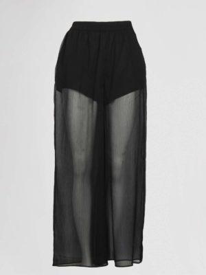 emporio armani pantalon zwart