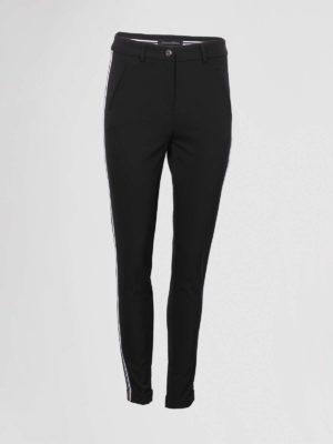 leeser studio pantalon zwart