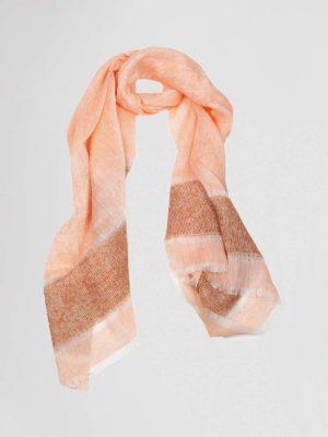 amina rubinacci shawl oranje