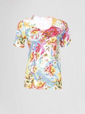 efixelle t-shirt bloemprint