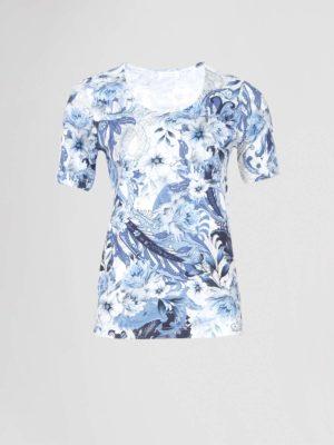 efixelle t-shirt blauw