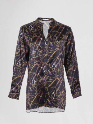 Robert Friedman blouse hermes