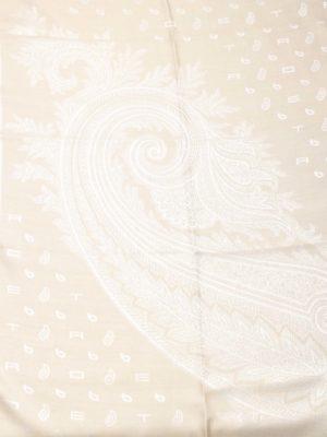 Etro Shawl logo Beige