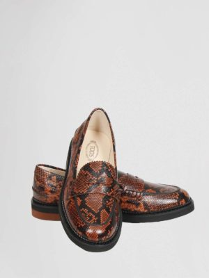 Tods Moccasin Python